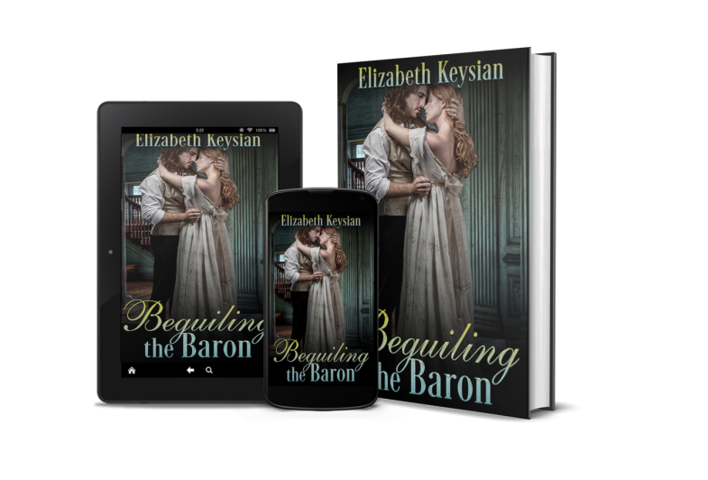 Beguiling the Baron on mobile devices and as a hardback book